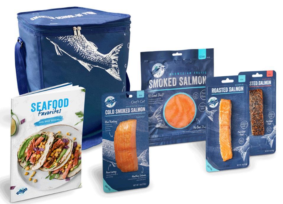 Blue Circle Foods Smoked Salmon Variety Bundle