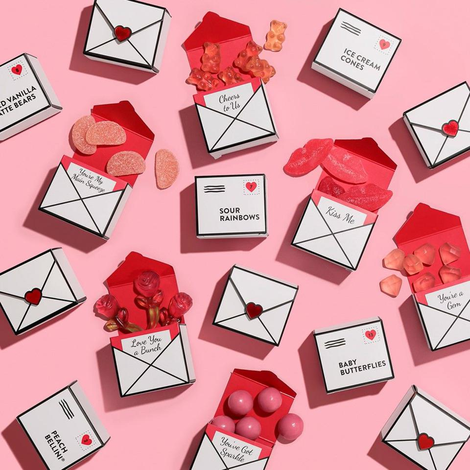 Love Letters Valentine's Candy Tasting Box set