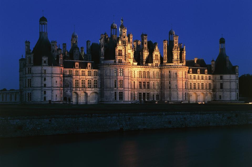 Chateau of Chambord, Loire valley, Centre region