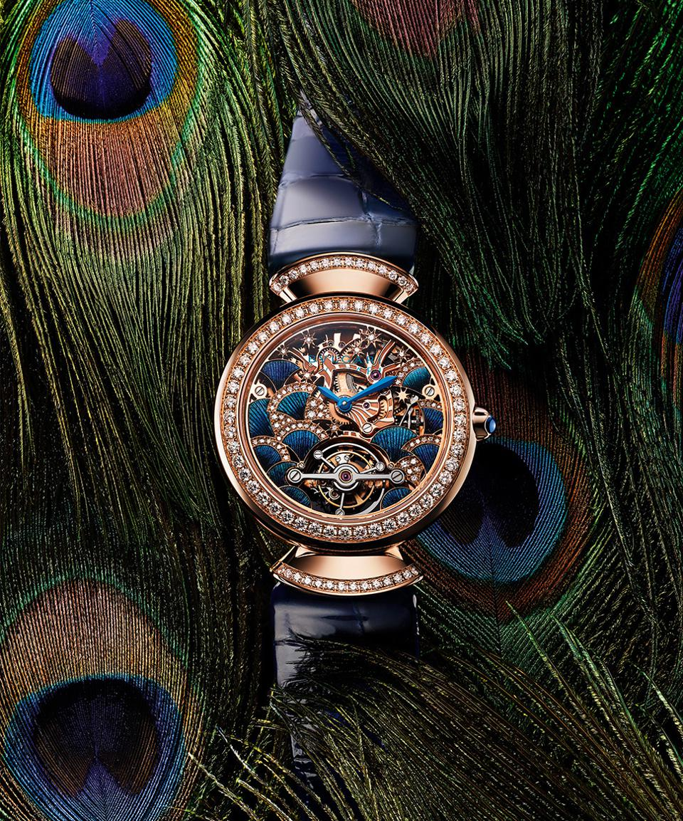 Bulgari Peacock Collection Preens Proudly Without Ruffling Any Feathers