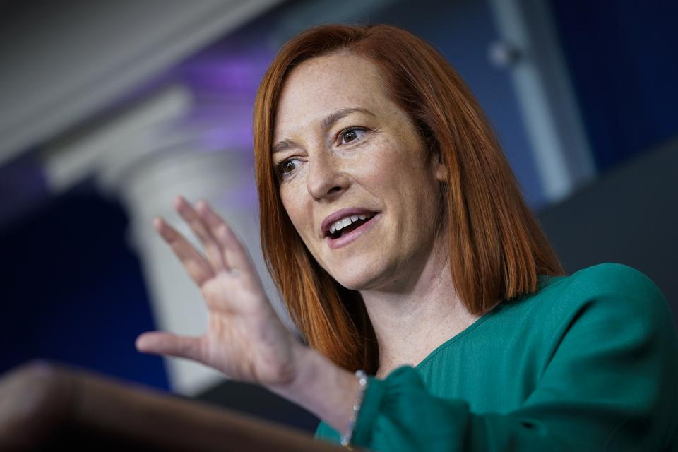 White House Press Secretary Jen Psaki Holds Briefing In The White House