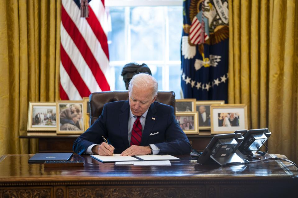 President Biden Outlines His Administration's Health Care Plan