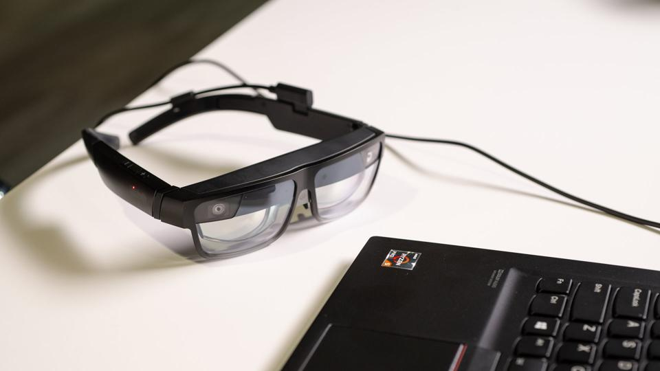 Lenovo ThinkReality A3 headset.