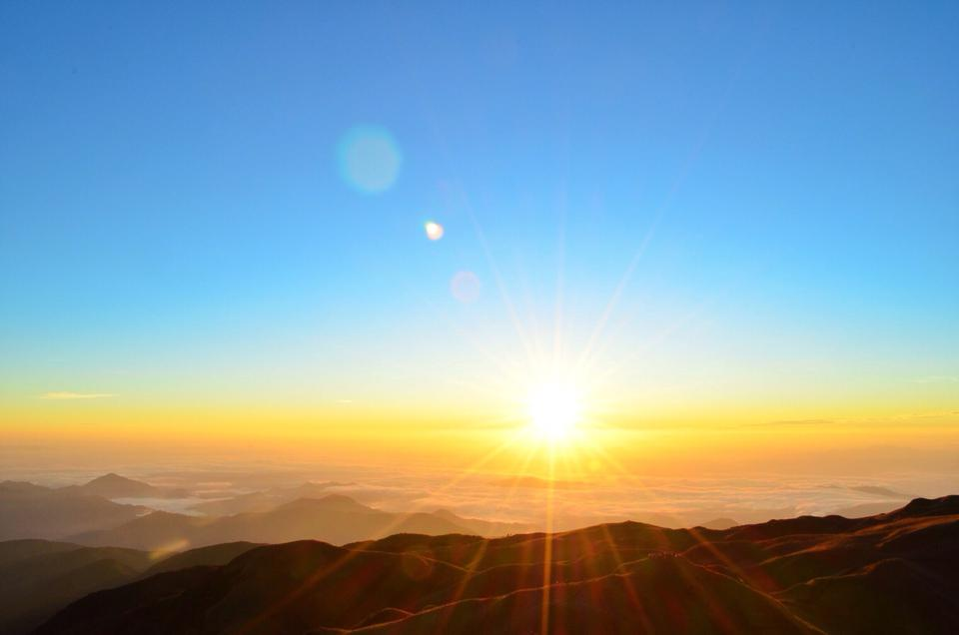 Scenic View Of Sunrise