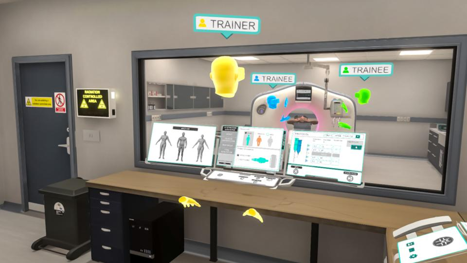 employee training in virtual reality using the Immerse platform