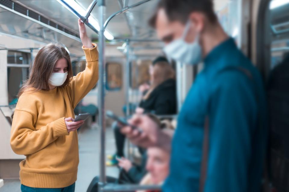 CDC face masks transportation