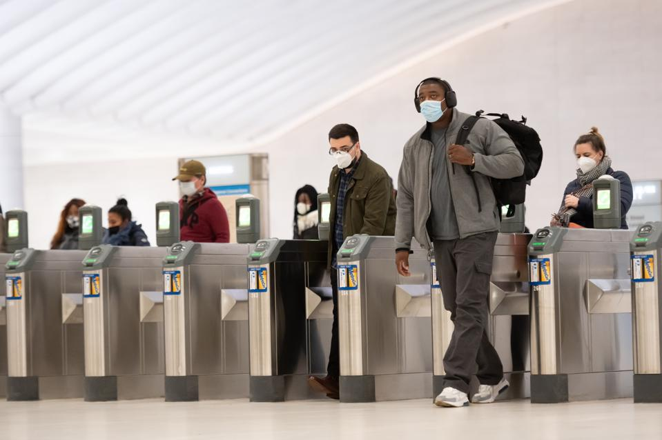 CDC face mask order travelers