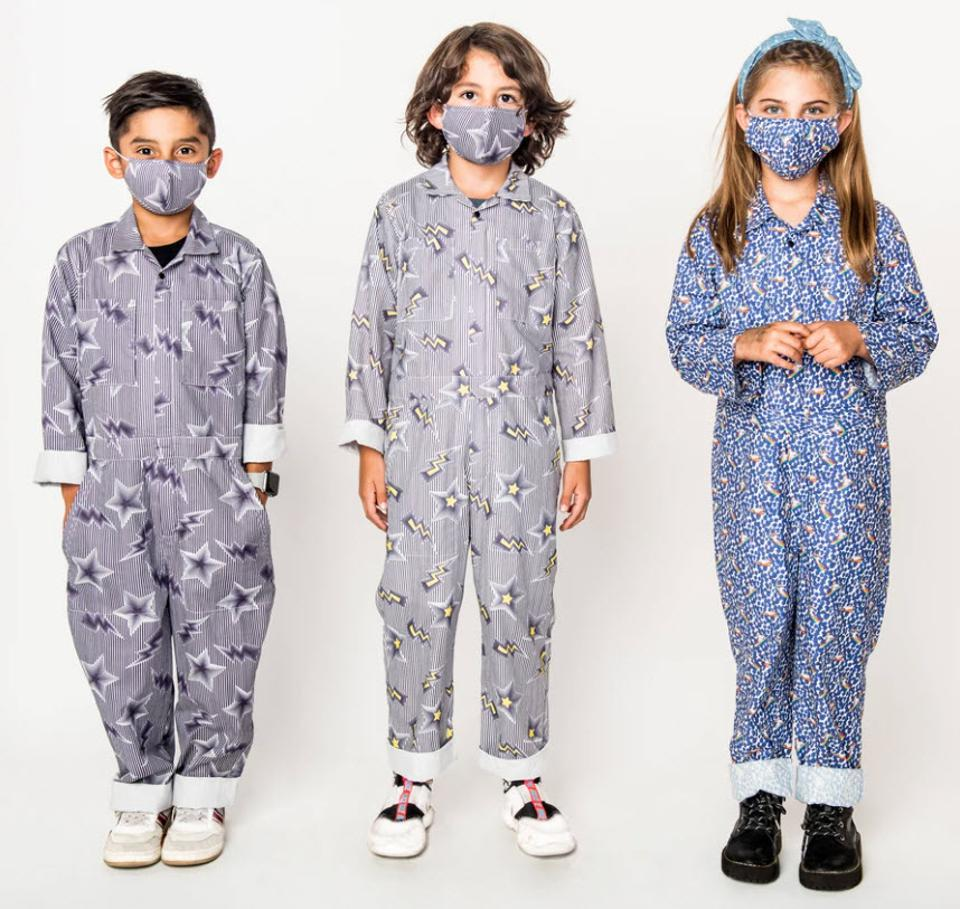Kids jumpsuits for travel and school