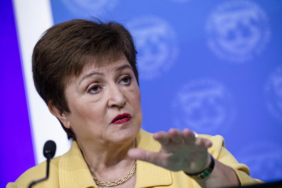 IMF Managing Director Kristalina Georgieva