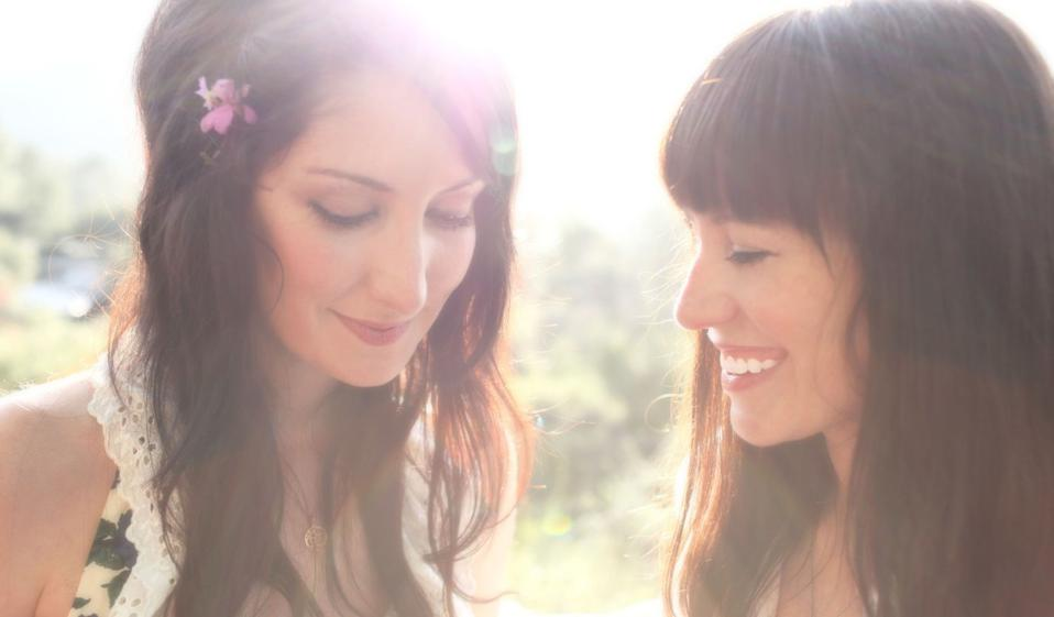 Azure Ray: (l-r) Maria Taylor and Orenda Fink.