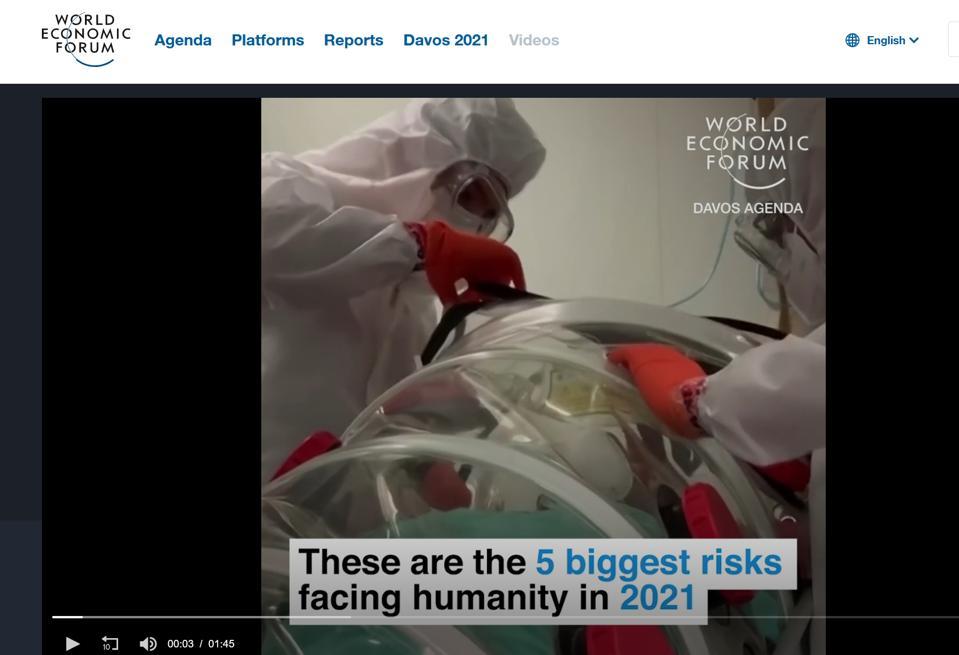 Les plus grands risques auxquels l'humanité est confrontée, selon le Forum économique mondial 2021