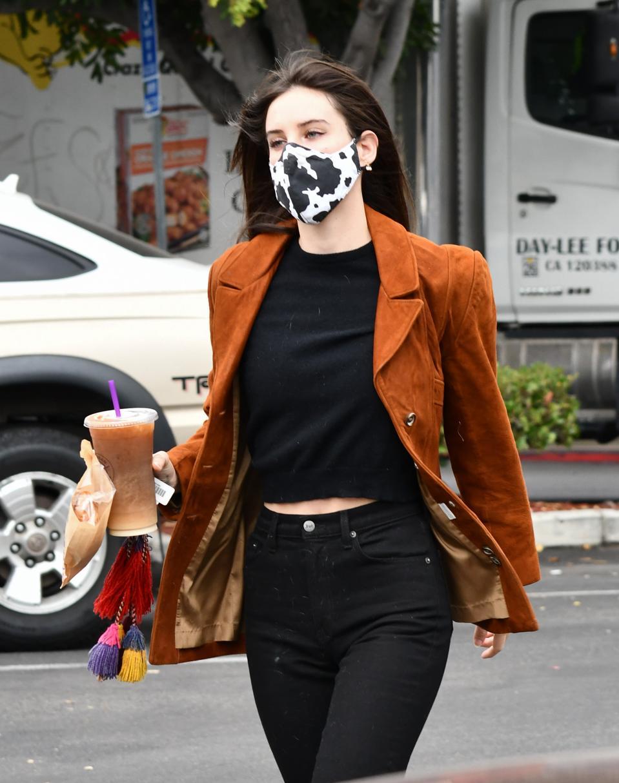 Celebrity Sightings In Los Angeles - October 23, 2020