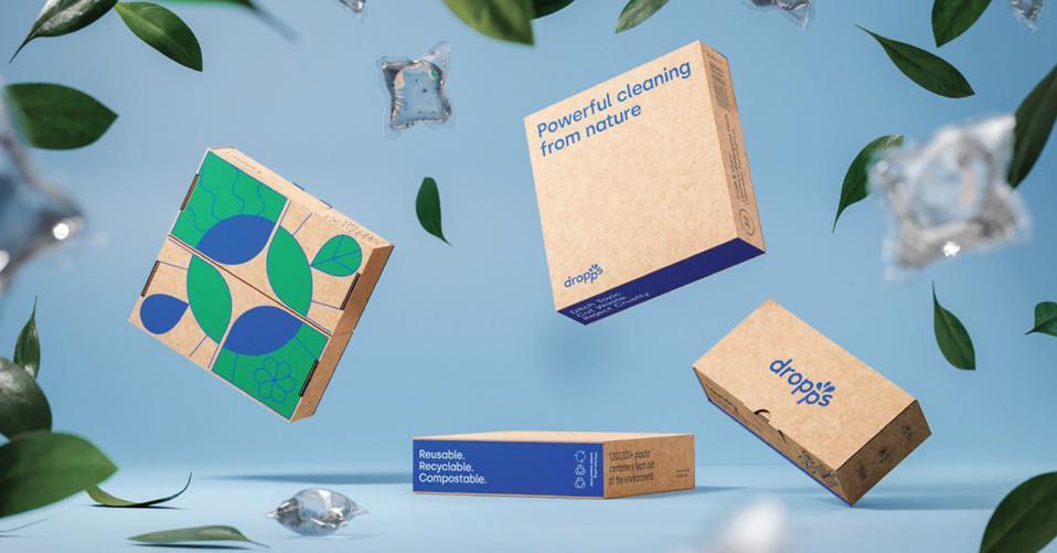 Dropp's plastic-free products