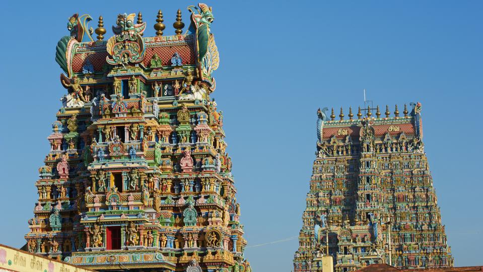 Meenakshi Amman Temple in Madurai, India