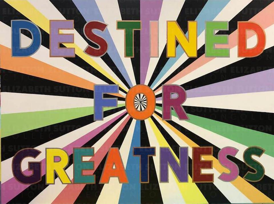 Destined For Greatness Fine Art Print