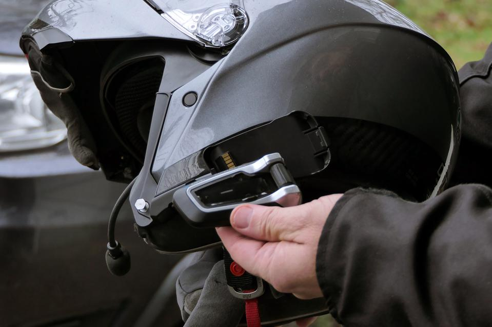 Cardo PACKTALK Bold motorcycle communications system