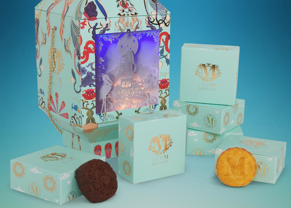 Special Lantern Package Collaboration with Lady M Bakery, Netflix & Pearl Studio for the Film, Over The Moon