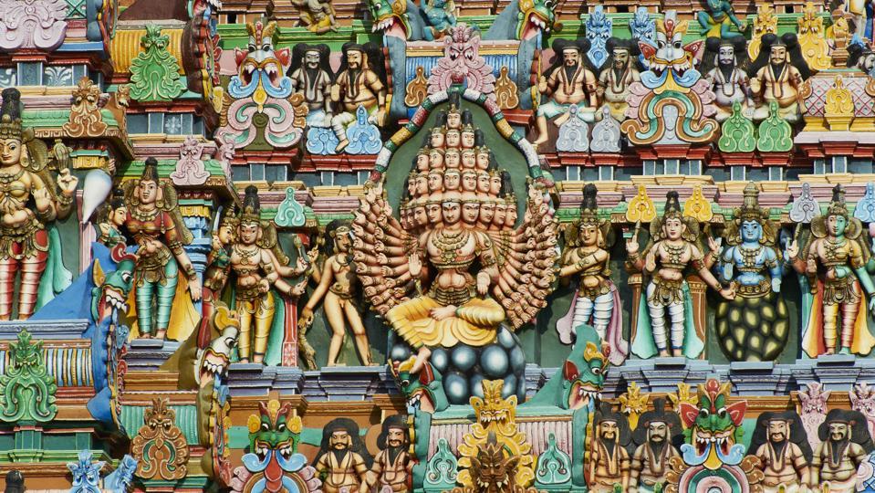 India, Tamil Nadu, Madurai, Sri Meenakshi temple