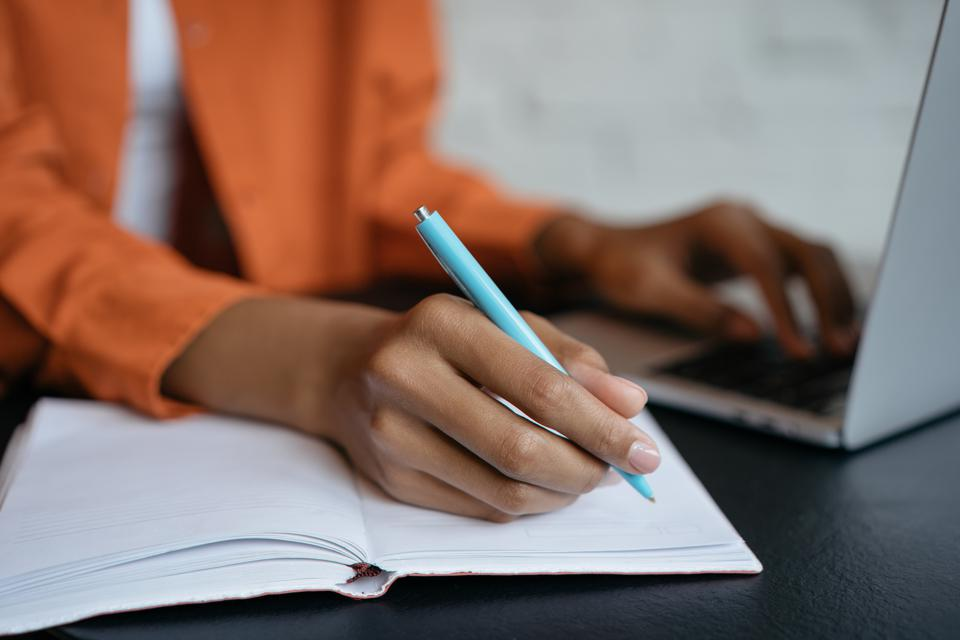 We don't have research on whether it's best to teach students to write sentences first.