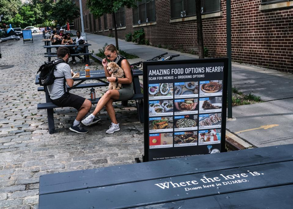 New York City Opens Up Streets To Outdoor Dining
