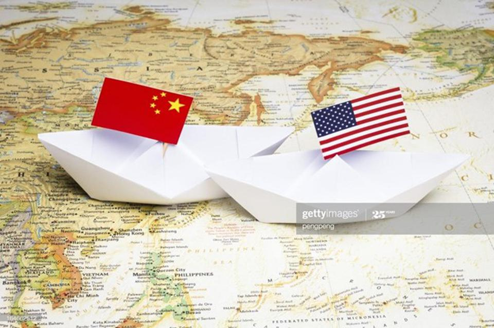 Geopolitical rivalry between the US and China