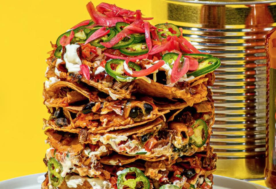Guy Fieri's Trash Can Nachos are a Super Bowl staple.