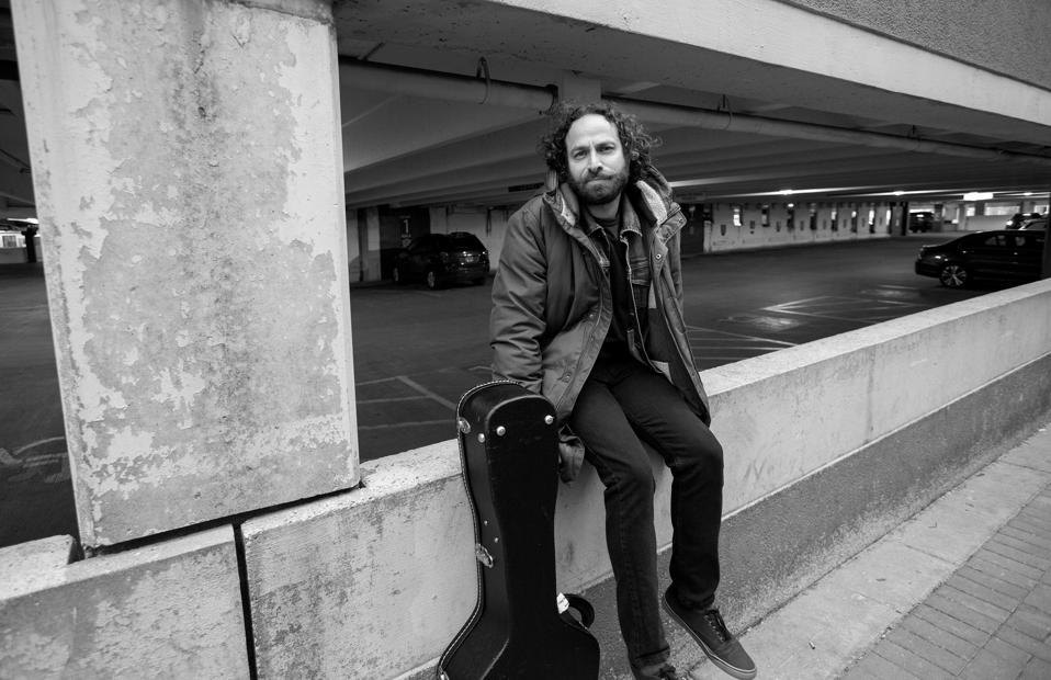 ″Holding On,″ the latest single from Chicago-based singer songwriter Todd Kessler is now available. Monday, January 18, 2021 in Arlington Heights, IL (Photo by Barry Brecheisen)