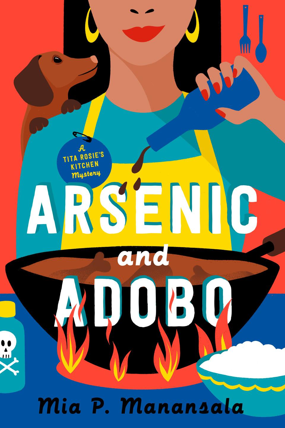 arsenic and adobo cozy mystery mia p manansala book cover