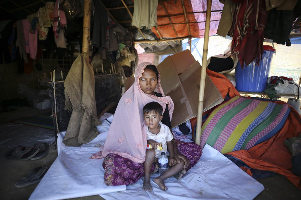 Women victims of the military crackdown in Myanmar