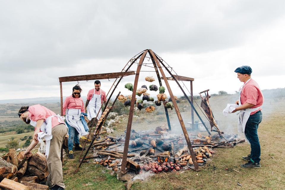 Learn how to cook over fire with Francis Mallmann in Scotland.