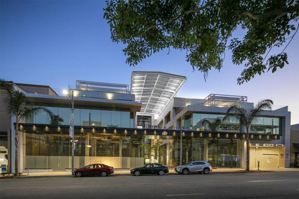 Hilton & Hyland luxury real estate office at 257 N Canon Dr, Beverly Hills, CA 90210
