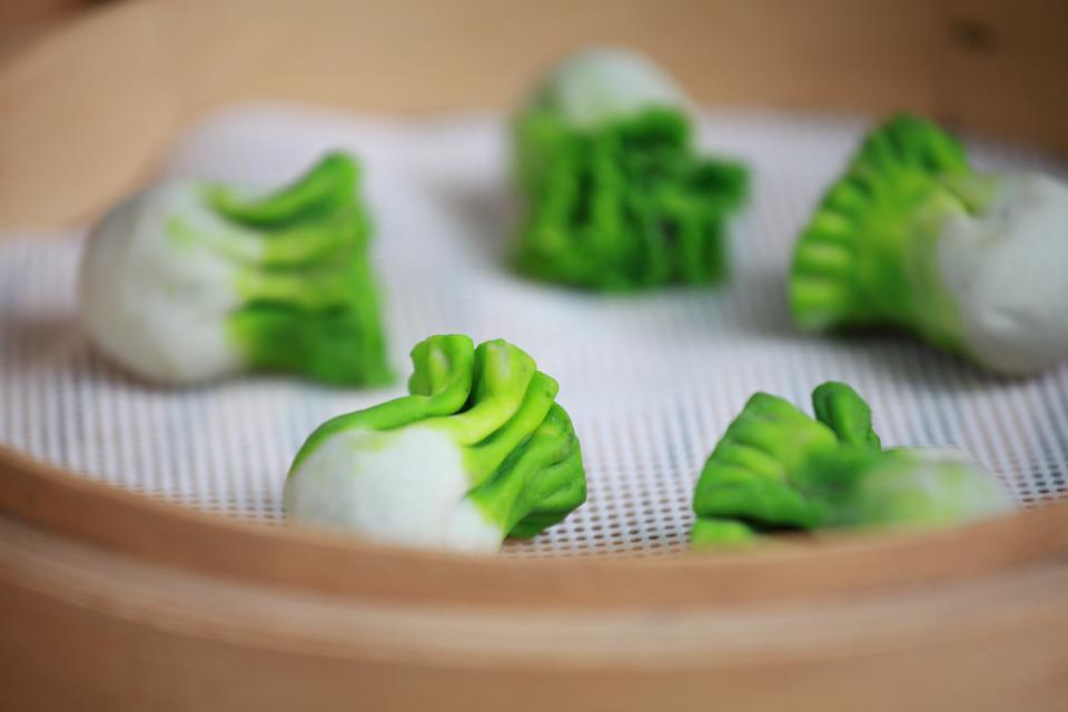 Colourful Dumplings In Xi'an
