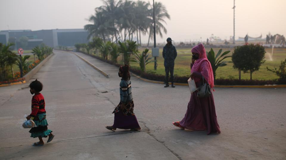 Rohingya Refugee Move To Island In Bangladesh