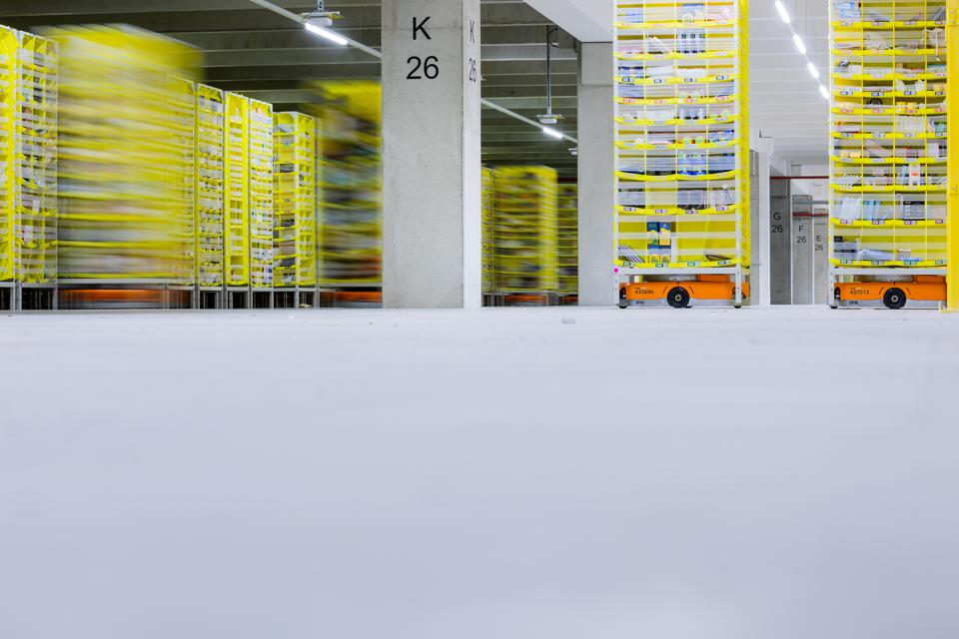 Amazon Logistics Center Mönchengladbach