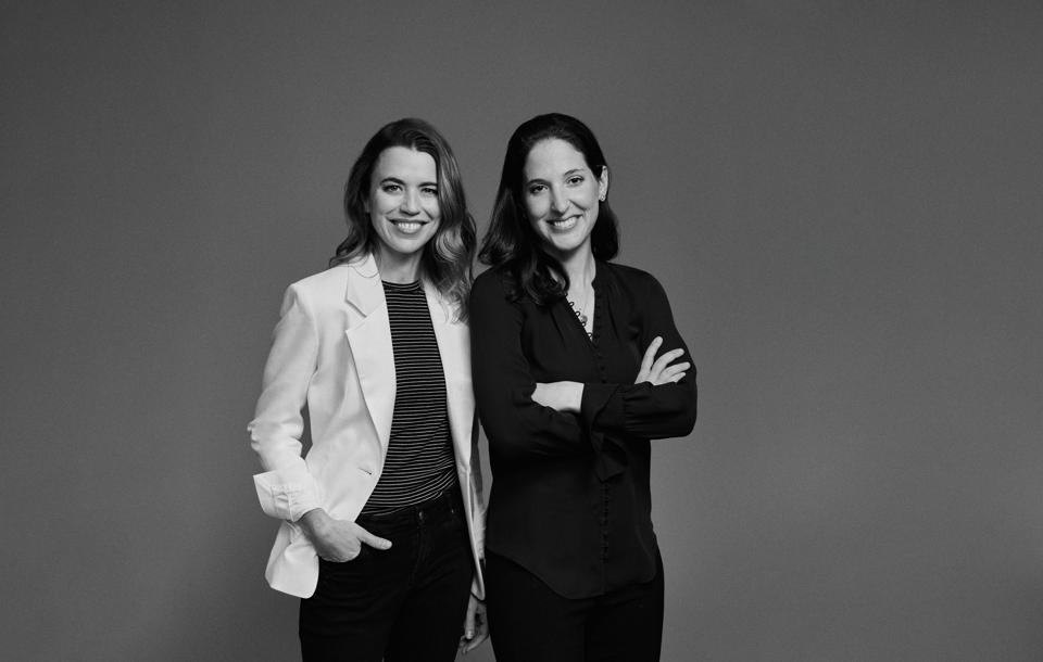 Construct Capital's Dayna Grayson (left) and Rachel Holt