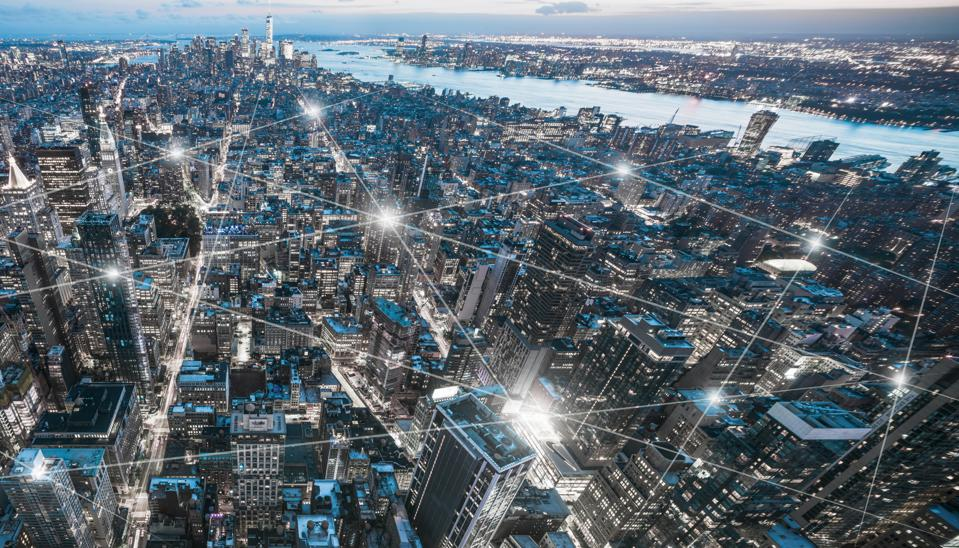 The network of city in New York