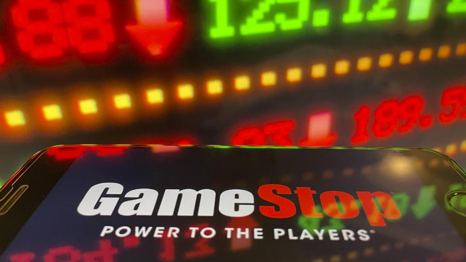 GameStop on Phone and stocks value