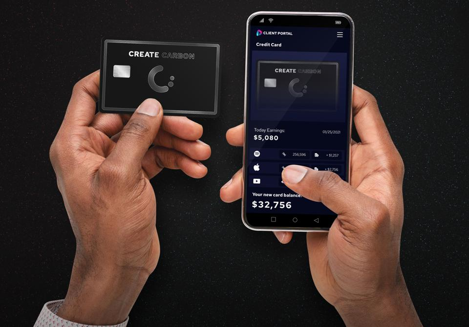 Create Music Group is introducing a credit card for music artists.