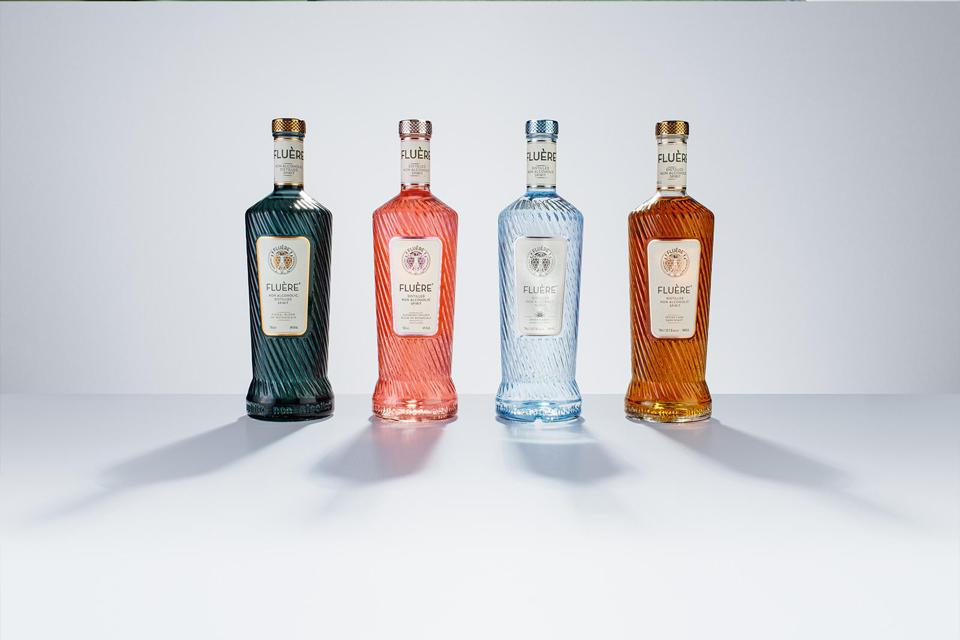 Fluère is a nonalcoholic spirit brand from the Netherlands that comes in four flavors.