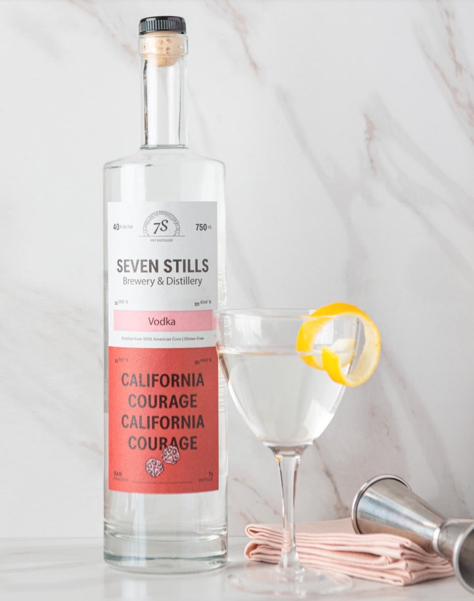 Seven Stills vodka