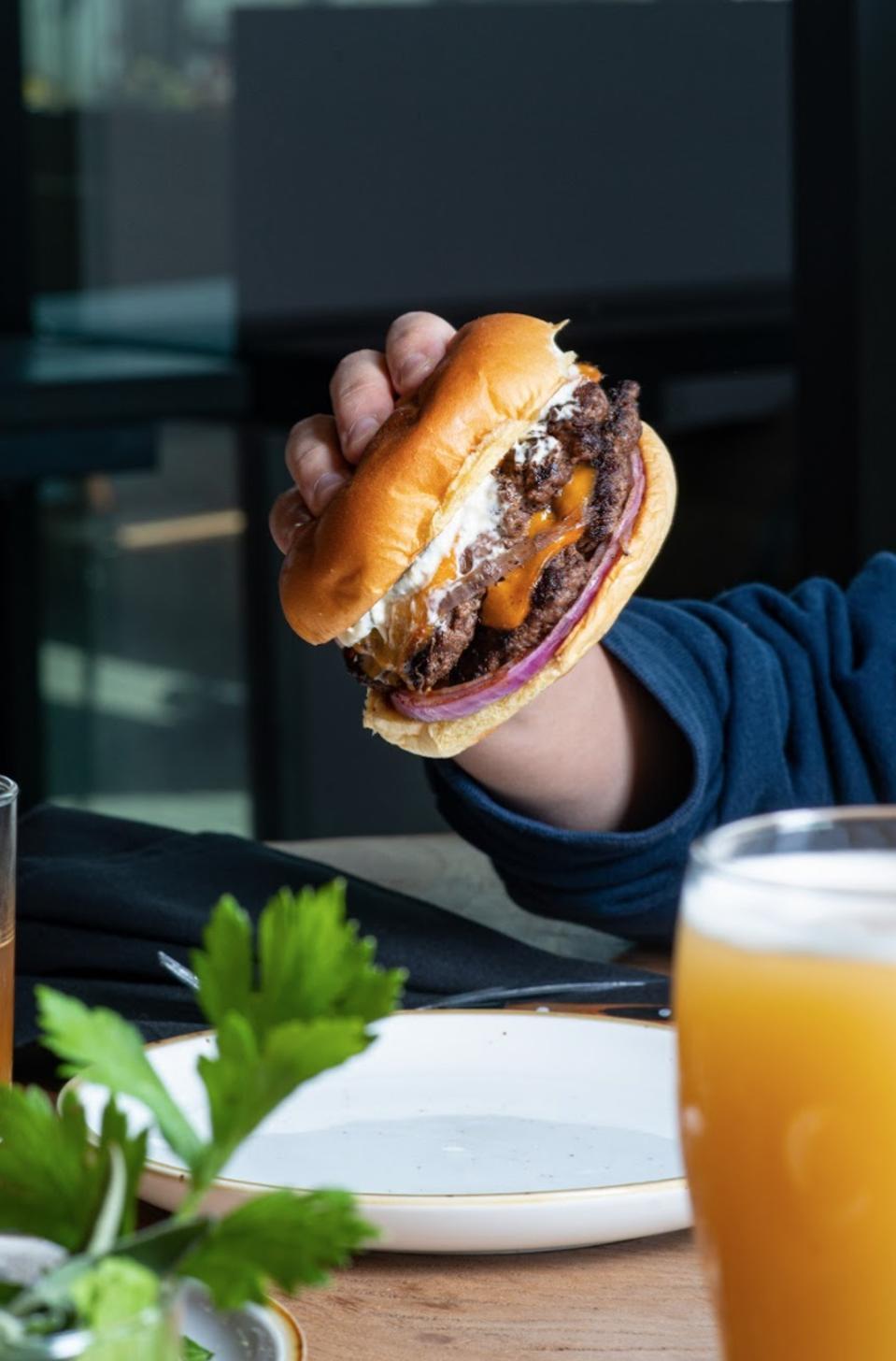 Seven Stills burger