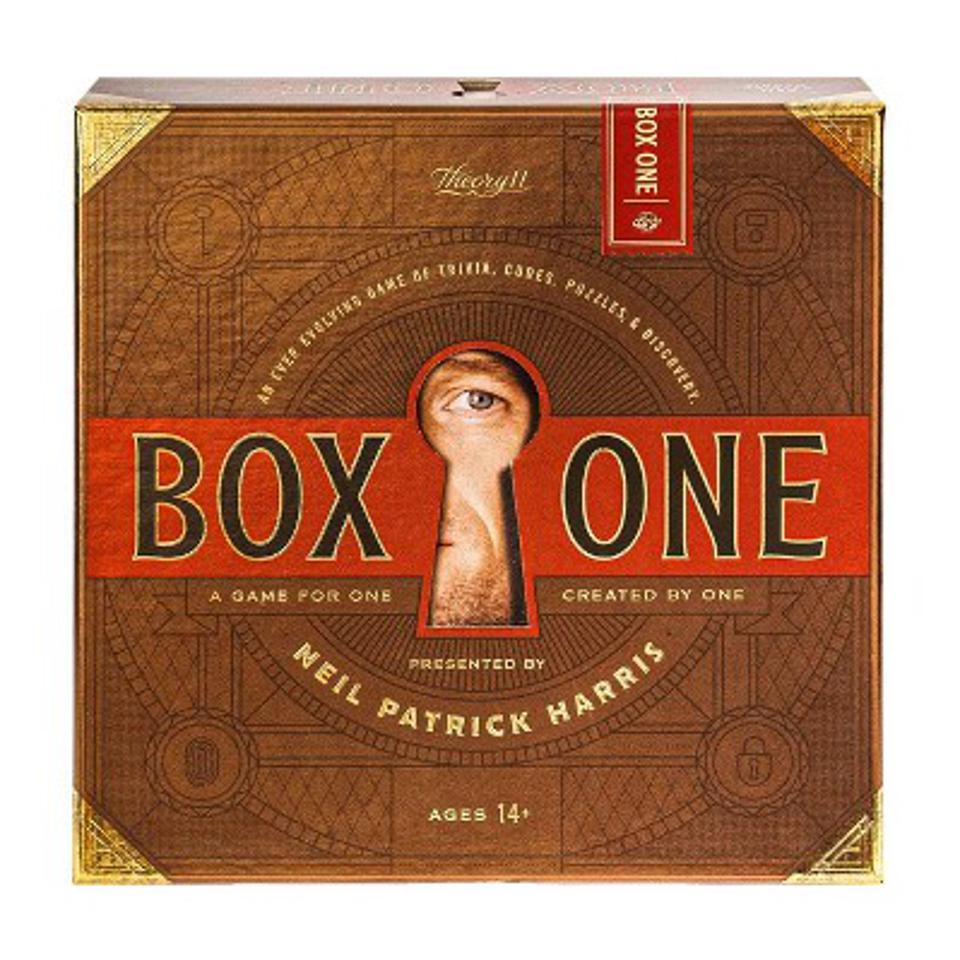 Box One mystery game Valentine's Day gift