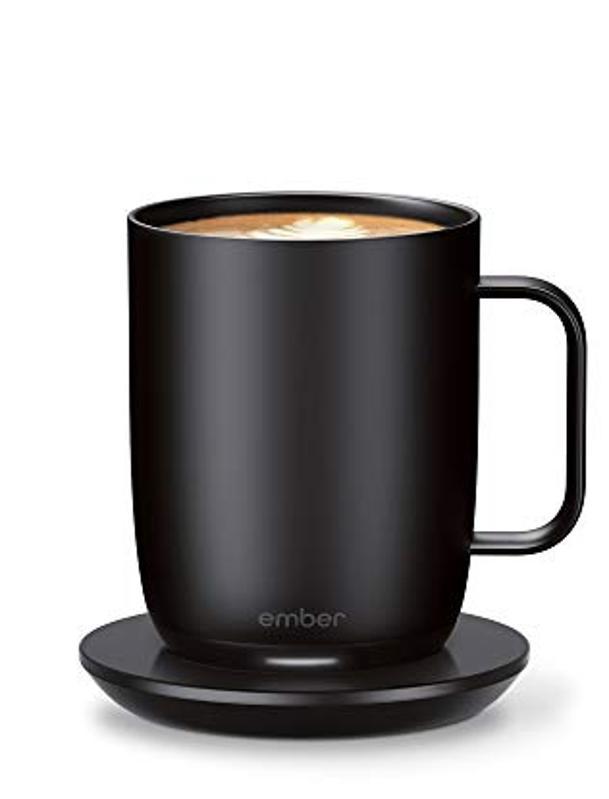 Ember app-controlled heating mug