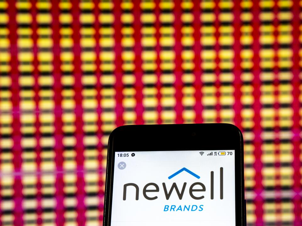 Newell Brands Commercial organization logo seen displayed on