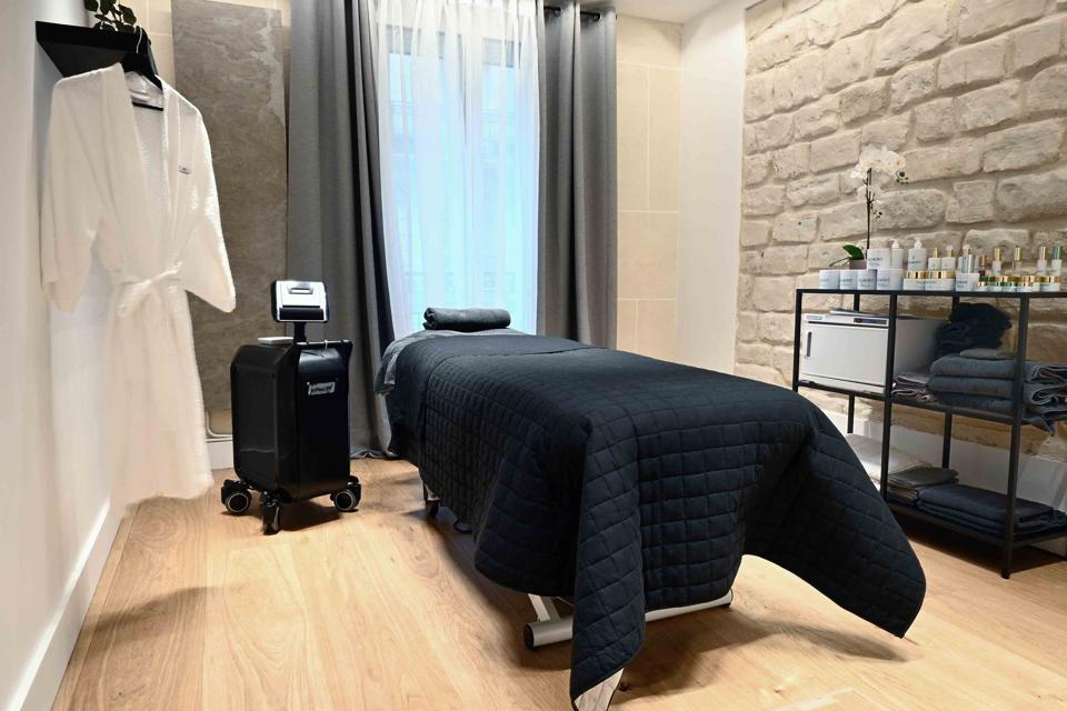 Le Petit Med Spa skincare room