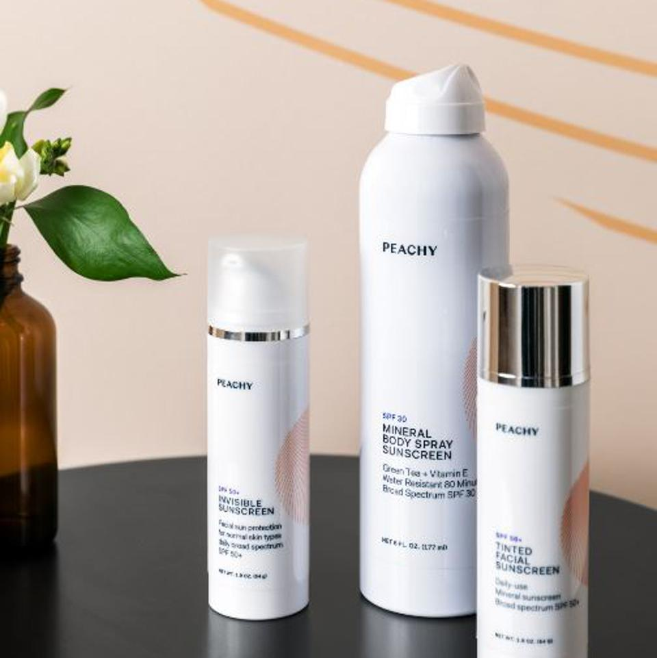 Use Peachy products to look even younger