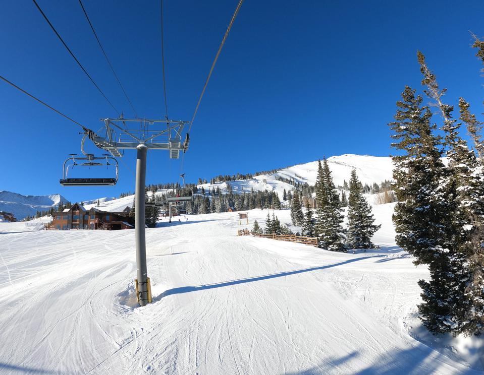 Ski lift at Breckenridge Ski Resort