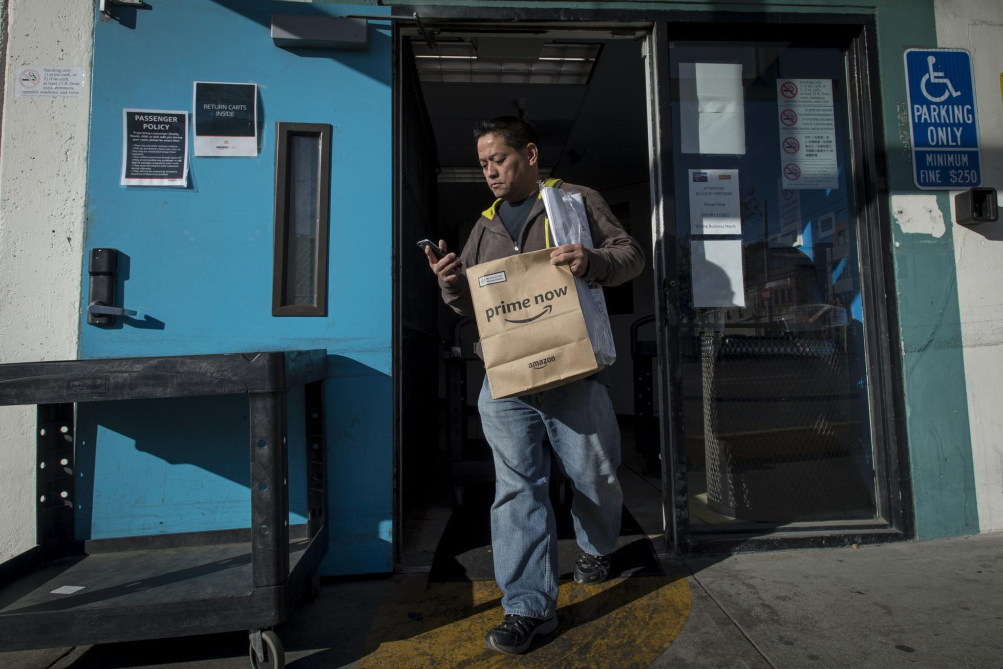 Amazon Flex Worker