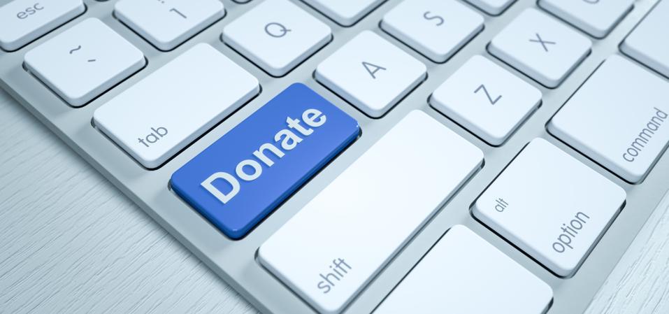 Donate key on pc keyboard
