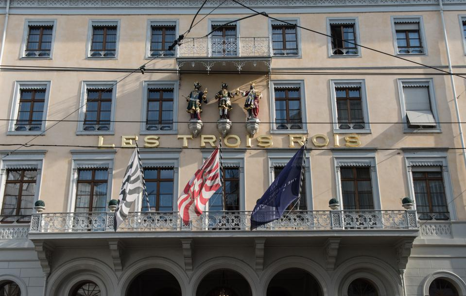 Hotel Les Trois Rois in Basel